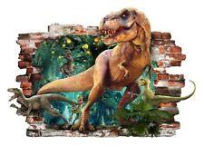 Dinosaurier Wandtattoo Wandaufkleber Kinderzimmer Decoration 3D DINOSAUR 82x57cm