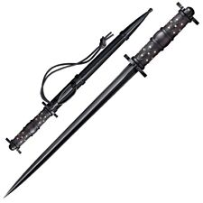 """Cold Steel 16.5"""" Rondel Dagger Black Leather Scabbard.88HRDL ****NEW***"""