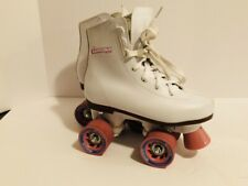 Chicago Roller Skates Size 1 White Pink ECU Girl Childrens Great Condition!