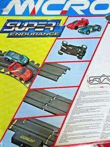 Micro Scalextric Super Endurance Spare Track Parts Spares Ferrari G090 Hornby