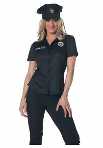 Womens Police Shirt Costume