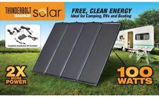 THUNDERBOLT MAGNUM SOLAR 100 WATT solar panel kit energia renovable, Camping
