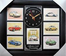 Porsche 911 1963-77 Stunning Collector Cards Wall Clock