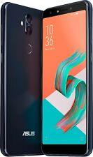 Asus - ZenFone 5Q Zc600Kl 64Gb Gsm Factory Unlocked Dual Sim Card Midnight Black