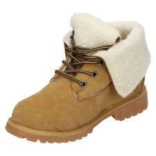 Scarpe stivali per bambini dai 2 ai 16 anni lacci , Numero 38