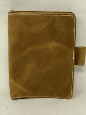 Planner Perfect Everyday Leather Travelers Notebook Fits B6 5x7 Light Brown