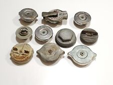 Lot of 9 Vintage Radiator Cap Usa Car Truck Jeep Chrysler Dodge Caraban Plynouth