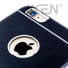 Fundas y carcasas metálicas de color principal negro de metal para teléfonos móviles y PDAs