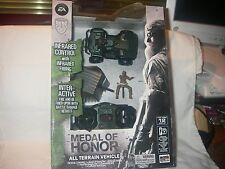 MEDAL OF HONOR ALL TERRAIN VEHICLE INFRARED CONTROL INTERACTIVE TOY  SEALED 2011