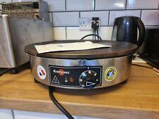 More details for krampouz crepe maker 40cm standard round 230v