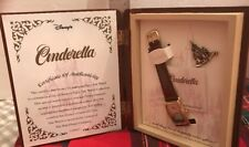 Rare Disney Fairytale Collection, Watch, Pin, Book. New In Box Limited Edition