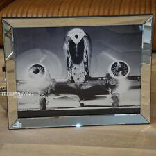 Wandbild Propeller Flugzeug Nostalgie Druck Dakota DC-2 American Airlines Deko