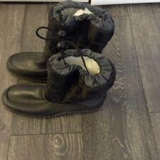 Ladies Women's Snow Fleece Lined Boots Size 5 uk