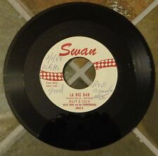 "45 RPM Rock By Billy (Ford) & Lillie, ""La Dee Dah"" on Swan"