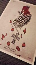 GUNS N' ROSES POSTER T- MOBILE ARENA LAS VEGAS PRINT 11/17/17 VEGAS STRONG shirt