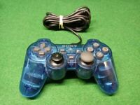 Sony Playstation 2 PS2 Dualshock 2 Blue OEM Analog Controller SCPH-10010  ✅