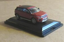OXFORD DIECAST RANGE ROVER EVOQUE COUPE (FACELIFT) FIRENZE RED 1:76 SCALE CAR