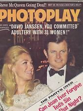 OCT 1969 PHOTOPLAY vintage -- movie magazine --- TED KENNEDY