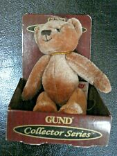 Gund Bear Collector Series 2009, Preston #15393 Never Removed from original box