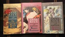 Anne Rice A N Roquelaure Sleeping Beauty Trilogy Claiming Punishment Release