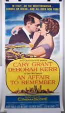 AN AFFAIR TO REMEMBER - 3 SHEET LINEN POSTER 1955 - CARY GRANT - DEBORAH KERR