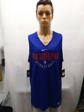 NWT Philadelphia 76ers Reversible Practice Jersey Nike 2XLT XXLT NBA