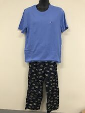 TOMMY HILFIGER MENS MEDIUM SLEEPWEAR PAJAMAS PANTS SHORT SLEEVE SET GIFT PACK