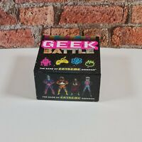 Geek Battle Board Game Chronicle Books  Age 10 - Adult 100% Complete