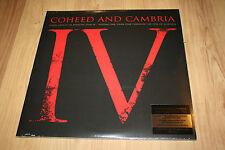 RARE Coheed & Cambria Good Apollo IV Vinyl TOUR EDITION Clear Splatter SEALED