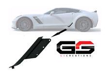 C7 Corvette Z06 / ZR1 / Grand Sport Factory Lower Brake Duct Matte Black Drivers