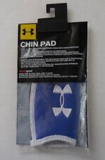 Under Armour Chin Pads Unisex One Size Royal/White/Black New