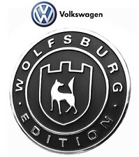 VW CC Golf Jetta Passat Tiguan Touareg Wolfsburg Edition Emblem Badge Genuine