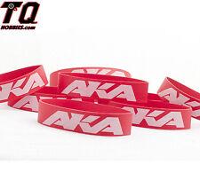 AKA Racing 1/8-1/10 Tires Mounting Bands (8) AKA44002 Fast ship+track