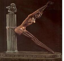 """Erte    (Romain De Tirtoff)     """"Prisoner of Love""""    Bronze    MAKE OFFER   GD"""
