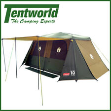 Coleman Instant Up 10 Person Camping Tent Gold Series