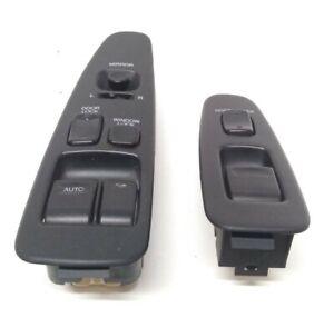 92-00 Lexus SC300 SC400 Black Power Window Switch Set