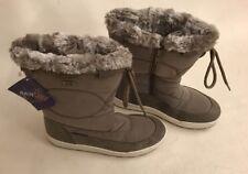 MAMMAL KINDER BRAND NEW WINTER BOOT SIZE 4 WINTER 16/17 FAUX FUR RAINTEX SNOW