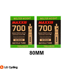 Maxxis Welter Weight 700 x 18 /25C 80mm Bike Presta Valve Inner Tube
