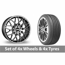 Aluminium RX BBS Wheels with Tyres