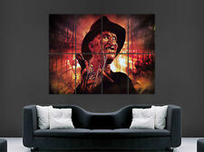 Freddy Krueger Pesadilla en Elm Street Póster película de terror película de arte en pared imagen