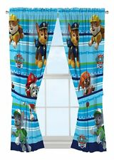 "Nick Jr Paw Patrol Puppy Dog Fun Window curtains,82 x 63"" -kids children"