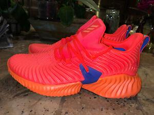 NEW Adidas Alphabounce Instinct Size 10.5 Men Hi-Res Orange Shoes BB7507