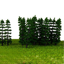 20Pcs Fir Trees Model Layout Railway Park Landscape Scenery Trees HO OO N Scale