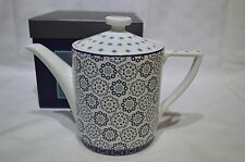 Portmeirion Ted Baker Langdon Blue 1.1 Ltr / 2 Pint Tea Pot / Teapot BNIB