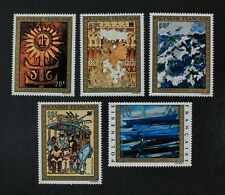 CKStamps: France Stamps Collection French Polynesia Scott#C100-C104 Mint H OG