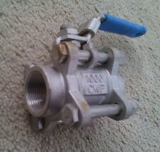 1/2 Jamesbury 3pc. ball valve