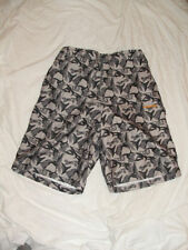 w Mens Swim Shorts Fits Size 32 Inch Waist summer Swimwear Elasticated Medium