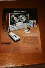 AO15=1972=PHILIPS HI FI STEREO REGISTRATORE=PUBBLICITA'=ADVERTISING=WERBUNG=