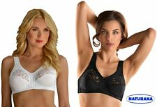 NATURANA SOFT CUP STRETCH FIRM CONTROL LACE BRA  5046/300/400
