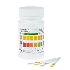 pH Drinking Water Testing Strip Strips Test Kit Wide Range (range 2-12)